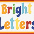 Bright Capital and Lowercase Alphabet Letters Set Clipart