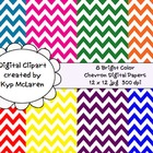 Bright Color Chevron Backgrounds