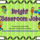 Bright Colored Classroom Jobs