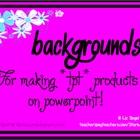 Bright &amp; Fun Backgrounds &amp; Borders