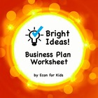 Bright Ideas Business Plan Worksheet