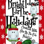Bright Ideas For The Holidays ~ Christmas Math Color By Th