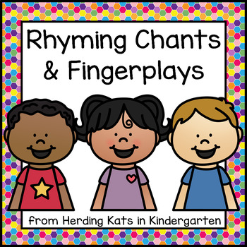 Brightly Colored Rhyming Songs/Chants