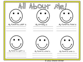 Bring Your Smile to School Welcome Packet to Students