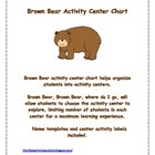 Brown Bear Activity Center Chart