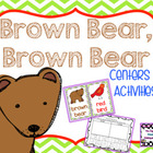 Brown Bear, Brown Bear Center Activities