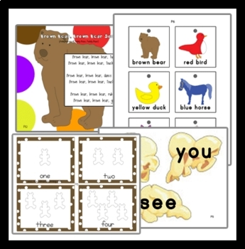Brown Bear, Brown Bear Story Unit