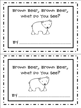 Brown Bear, Brown Bear, What Do You See? Freebie (Student Book)