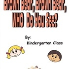 Brown Bear Who Do You See Class Book