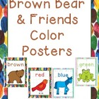 Brown Bear & Friends Color Posters