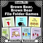 Brown Bear Brown Bear File Folder Games