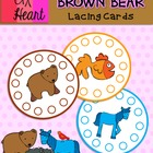 Brown Bear, Brown Bear - Lacing Cards