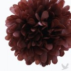 Brown Tissue Paper Nests (Set of 4 Poms)