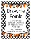 Brownie Points-A Whole Class Behavior Incentive in Black a