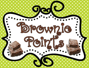 Brownie Points Behavior Management: Polka Dots