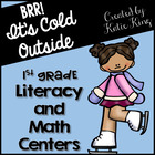 Brrr It's Cold Outside: 10 Common Core Math AND 10 Literac