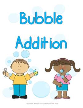 Bubble Addition Mats - Decomposing Numbers