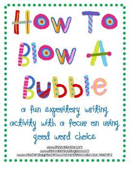 Bubble Blowing Blast!