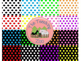 Bubble Dots Digital Background Papers {The Clipart Zoo}