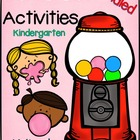 Bubble Gum Activities Bundle
