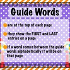 Bubble Gum, Bubble Gum Short e &amp; Short i Word Work-Guide Words