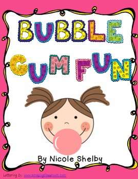 Bubble Gum Fun in Reading Class Freebie
