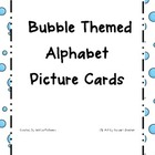 Bubble Themed Alphabet Cards