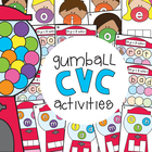 Bubblegum cvc Reading and Writing Activities