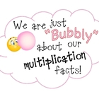 Bubbly Multiplication Facts