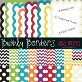 Over the Rainbow Kit~ Chevron & Polka Dots Backgrounds wit