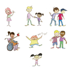 Bucket Fillers Clip Art Pack