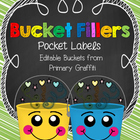 Bucket Fillers {Editable Document}
