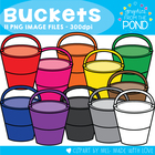 Buckets - Clipart Graphics From the Pond