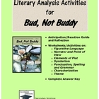 Bud Not Buddy Literary Analysis Activity Pack