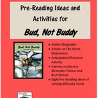 Bud Not Buddy Pre-Reading Ideas and Activities