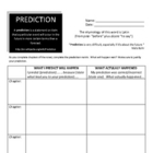 Bud, Not Buddy Prediction Matrix