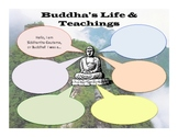 Buddhism - Buddha's Life & Teachings Worksheet & Key