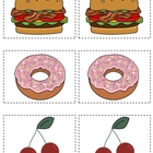 Buddy Cards for Partner Pairing~Food Theme