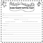 Buddy Reading Response Printable