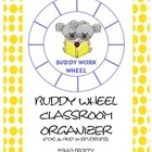 Buddy Work Wheel - Koalas