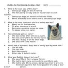 Buddy the First Seeing-Eye Dog Multiple Choice Test