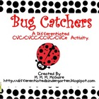 Bug Catcher-A Differentiated Write the Room Activity CVC/C