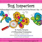 Bug Inspectors- A Differentiated CVC, CVCC/CCVC & CVCe I-Spy Unit