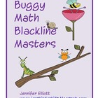 Bug Math Blackline Masters