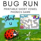 Bug Run! A Short /u/ Vowel Practice Game {Meets Common Core}