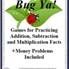 Bug Ya: Basic Math Facts &amp; Computation Game