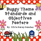 Buggy Theme Standards and Objectives Posters