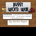 Buggy Word Wall