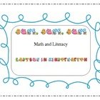 Bugs, Bugs Math, Literacy and nonfiction Science