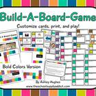 Build-A-Board-Game: Bold Colors Version